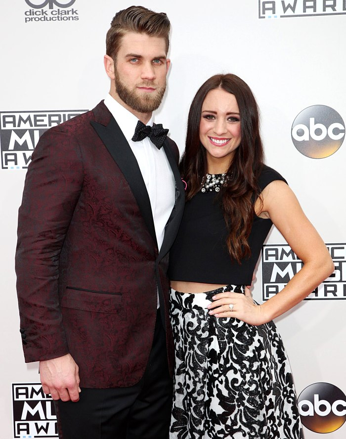 Phillies Player Bryce Harper Expecting 2nd Baby Girl With Wife Kayla Harper