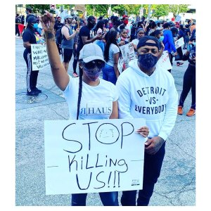 Porsha Williams Gets Real About Protesting