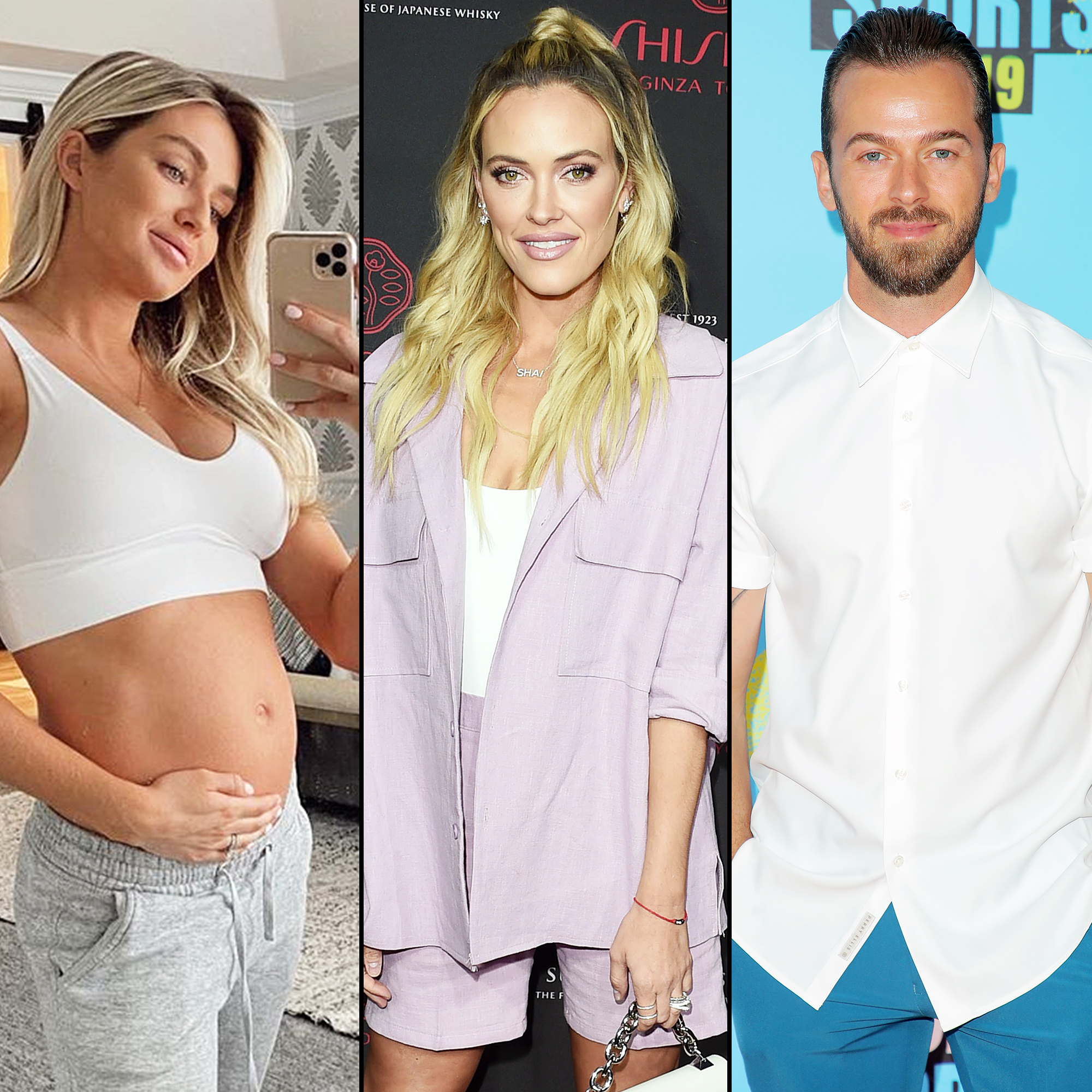 Pregnant Lindsay Arnold Shares Advice and Support From DWTS Costars