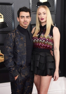 Pregnant Sophie Turner and Joe Jonas Attend Black Lives Matter Protest