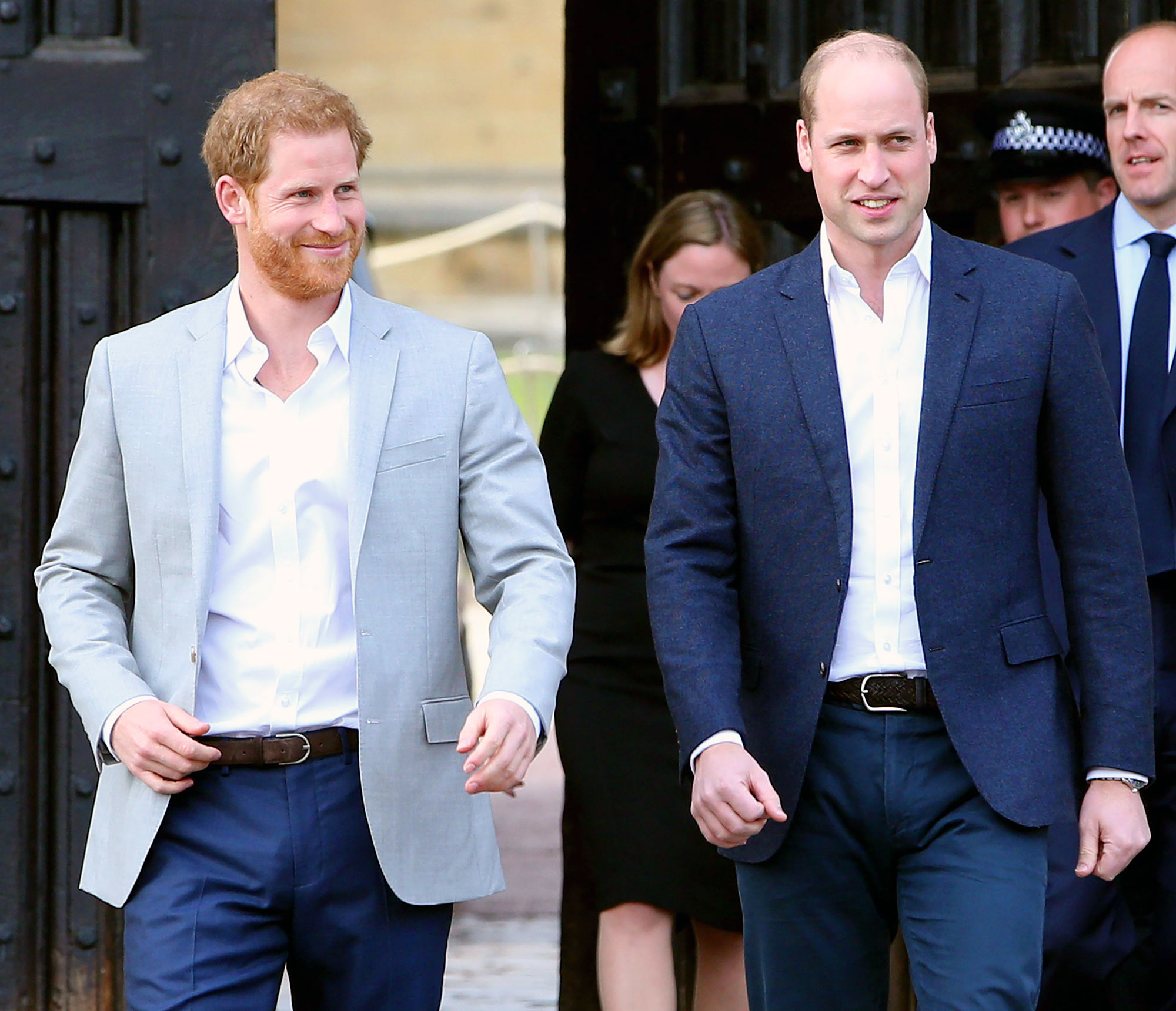Prince Harry Is Leaning on Prince William as He Struggles With Move to LA