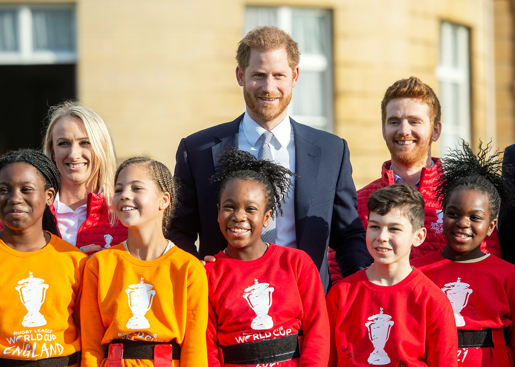 Prince Harry Shows Support for Rugby Community