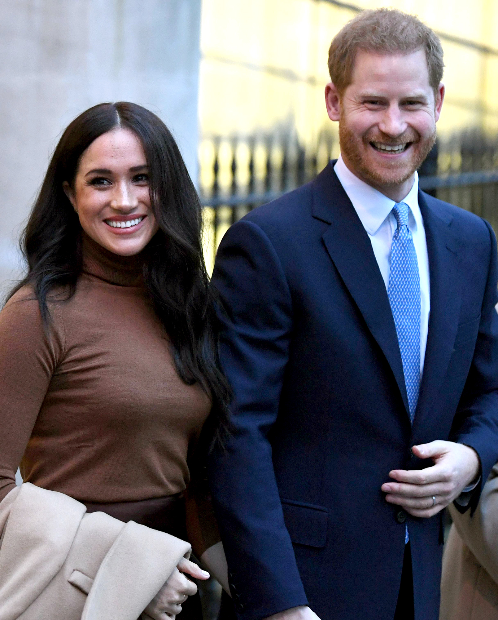 Prince Harry and Meghan Markle Sign New Deal With Speaking Agency Following Royal Stepback