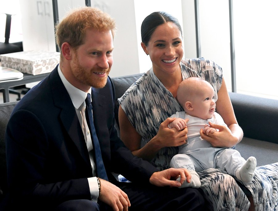 Prince Harry and Meghan Markle Son Archie Has Been Saying a Few Words