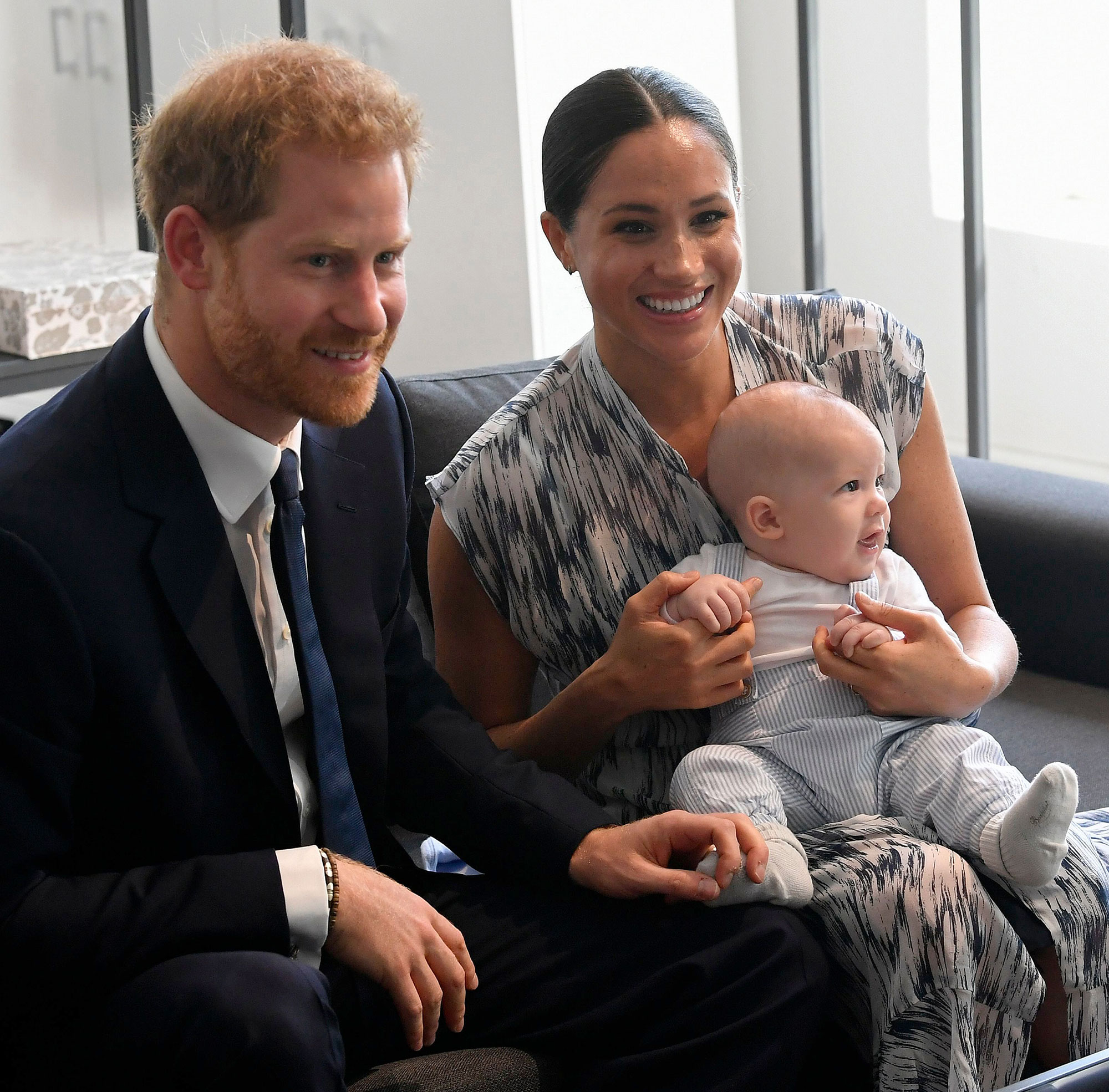Prince Harry and Meghan Markle Son Archie Talking