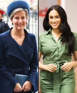 Prince Harrys Aunt Sophie Says Family Tried to Help Meghan Adjust to Royal Life