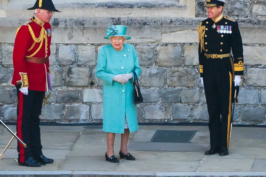 Queen Elizabeth II Honors Birthday With Smaller Trooping the Colour Parade Amid Coronavirus Pandemic