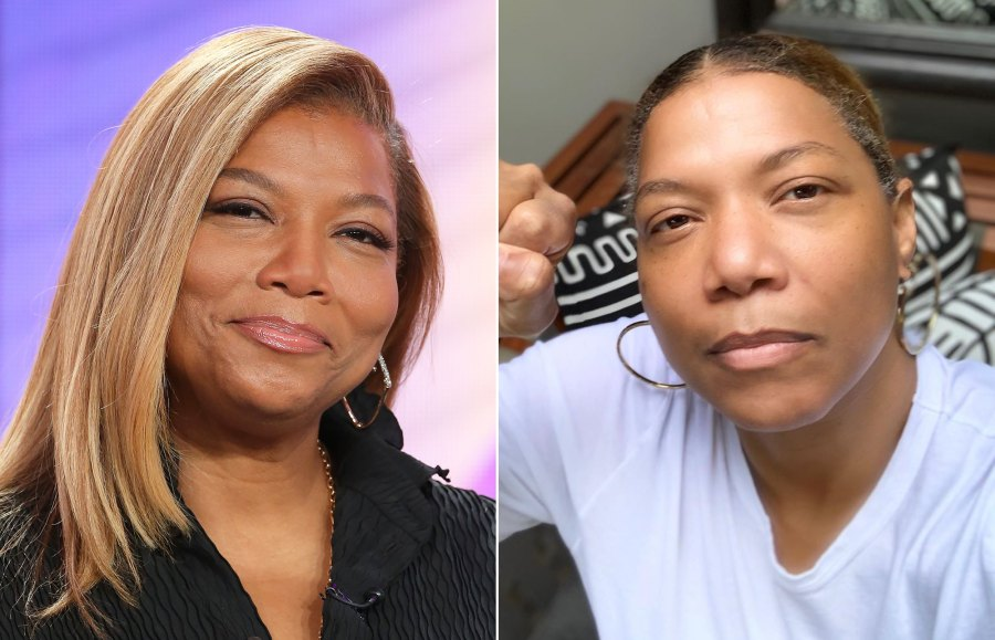 Queen Latifah Goes Makeup-Free to Share an Important Message