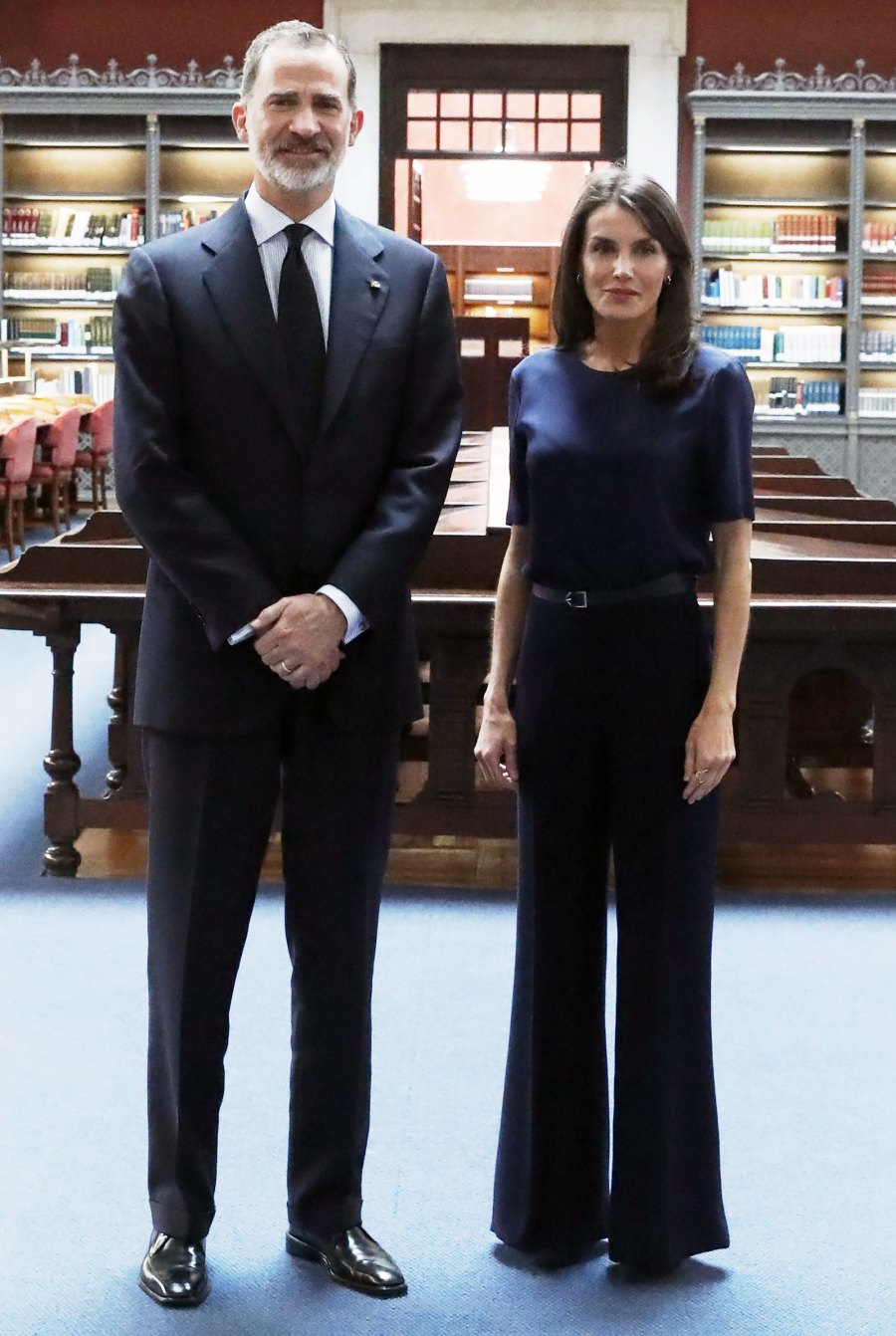 Queen Letizia Does Flared Pants in All the Right Ways