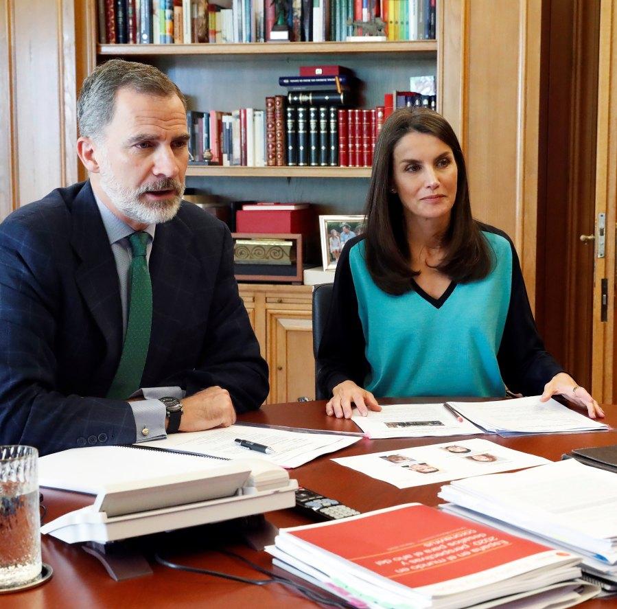 Queen Letizia Adds a Bit of Color to Her Latest Look