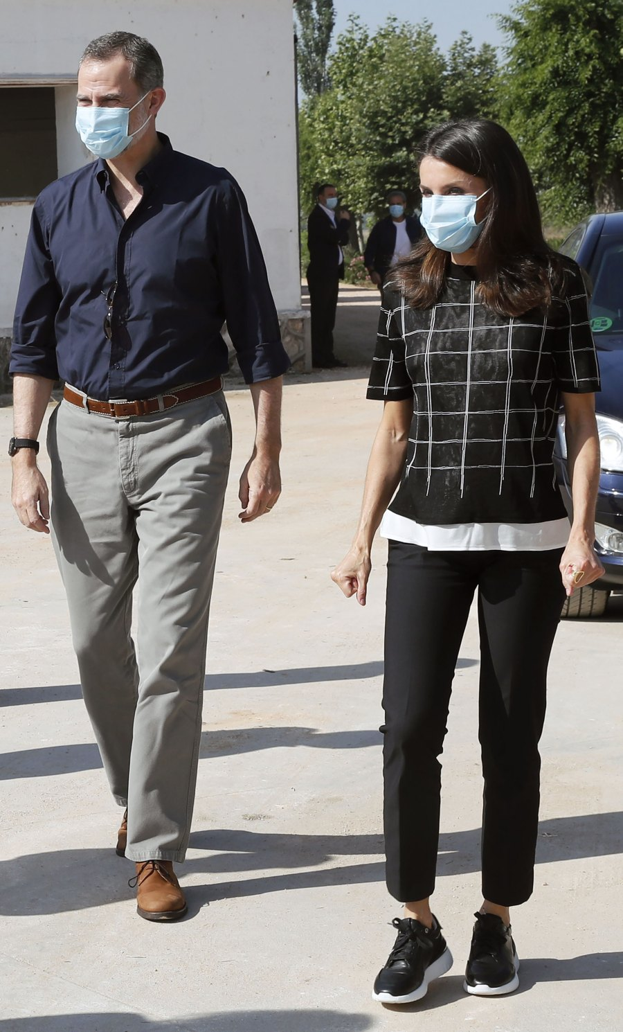 Only Queen Letizia Can Make Sneakers Look Seriously Chic