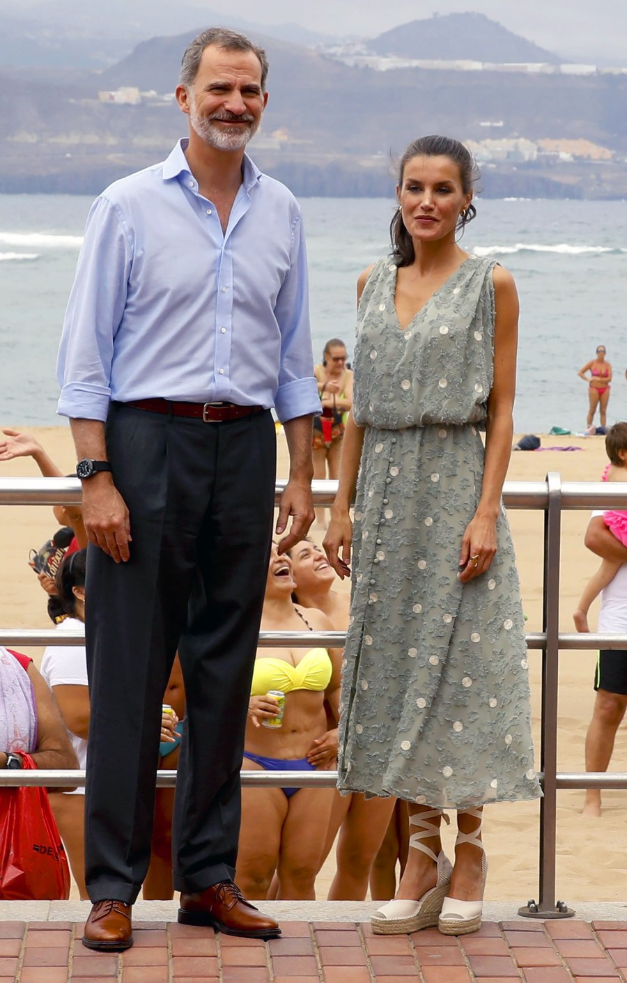 Queen Letizia's Regal Summer Dress Is a $25 Zara Number