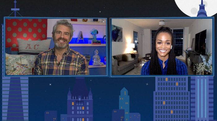 Rachel Lindsay Reveals There Was a Racist Contestant on Her Season of Bachelorette Watch What Happens Live with Andy Cohen