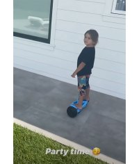 Reign Rides a Hoverboard! See More of Kourtney, Scott's Son's Best Moments