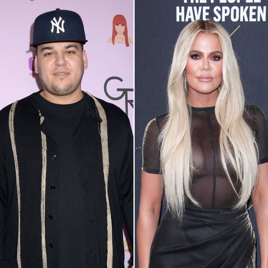 Rob Kardashian Reveals Weight Loss in Rare Photos From Khloe Kardashian's Birthday Party