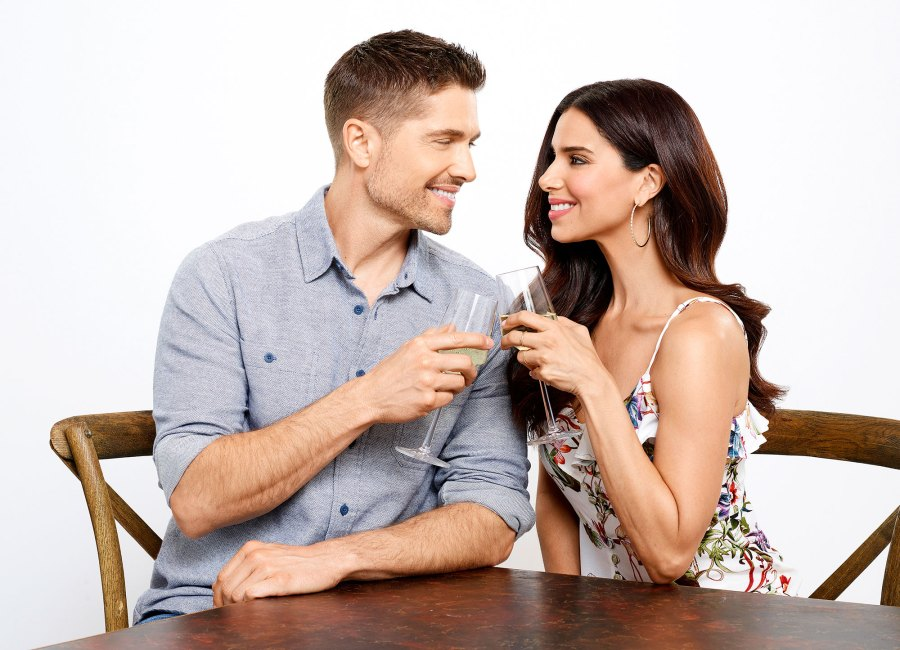 Eric Winter and Roselyn Sanchez A Taste of Summer Celebrity Couples Who Starred in Hallmark Channel Movies Together