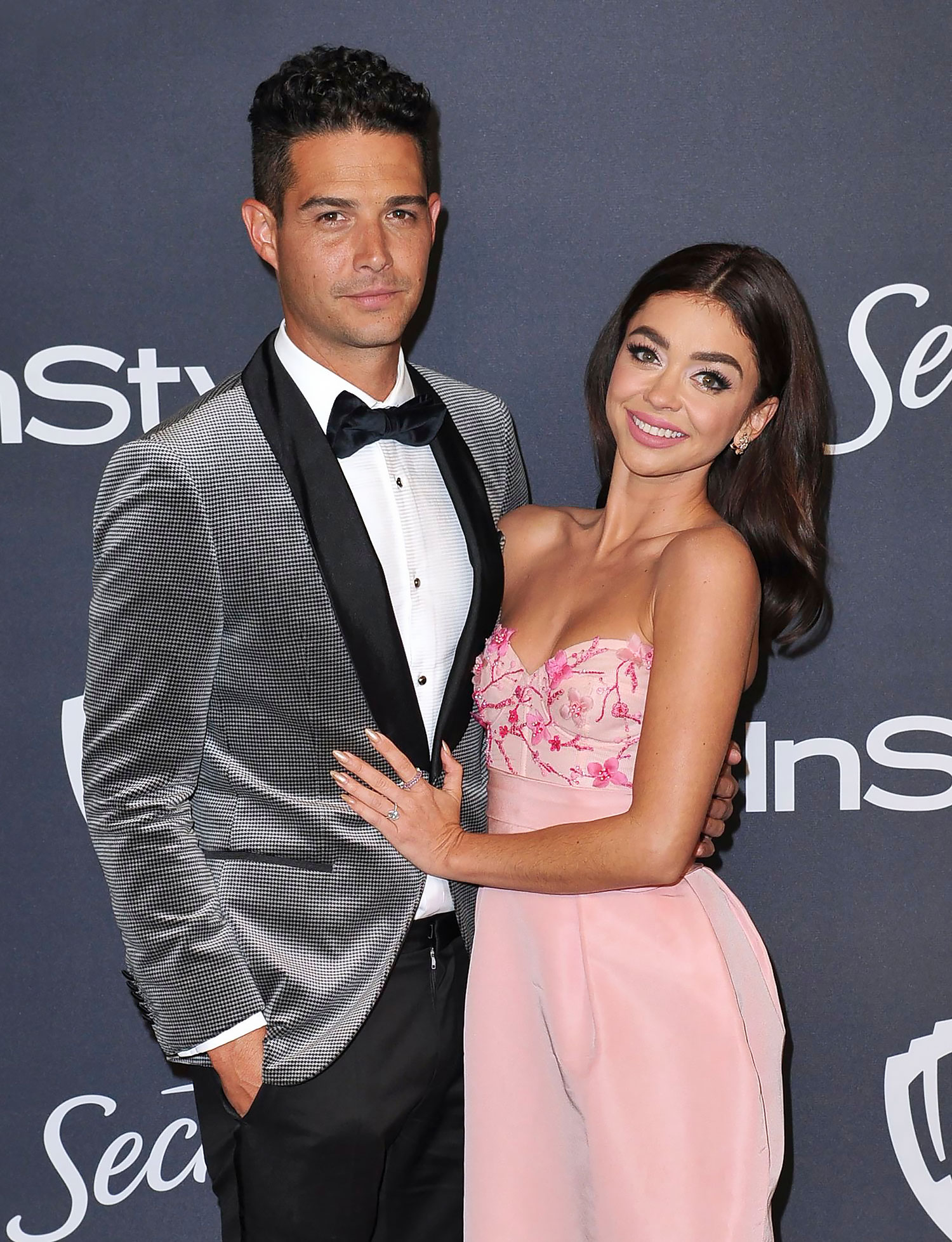 Sarah Hyland Confirms She and Wells Adams Put Their Wedding Plans 'on Hold' Amid Pandemic