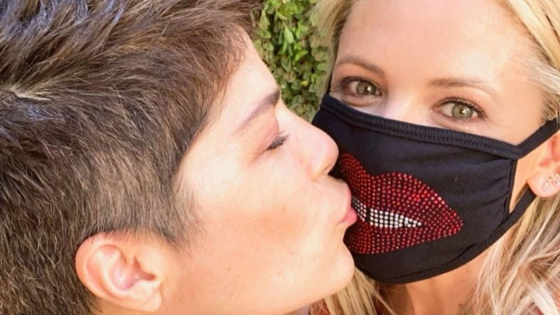 Kristin Chenoweth and Alan Cumming, More Stars Wearing Masks Amid Coronavirus