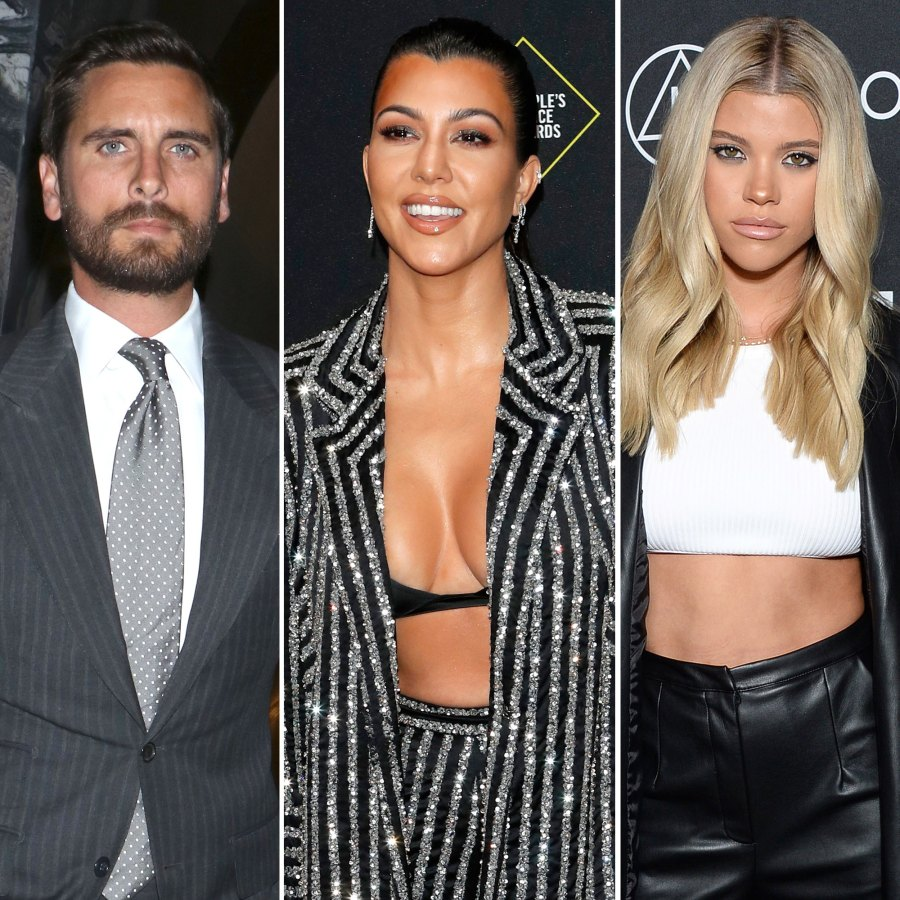 Scott Disick Dines at Nobu With Kourtney Kardashian and Their Kids After Sofia Richie Split