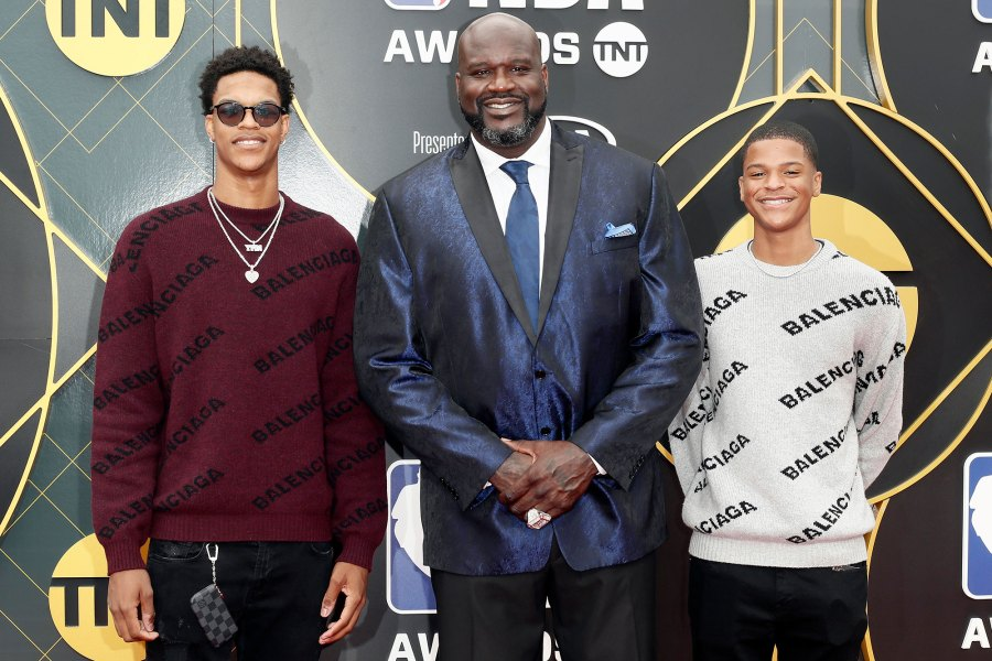 Shaquille ONeal Talks to His Sons About Interacting With Police