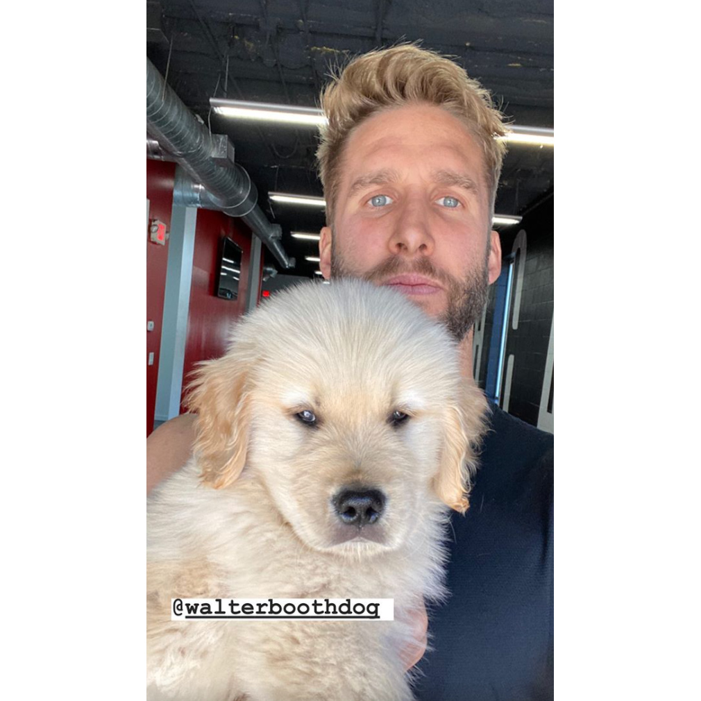 Shawn Booth Adopts Adorable New Puppy Named Walter