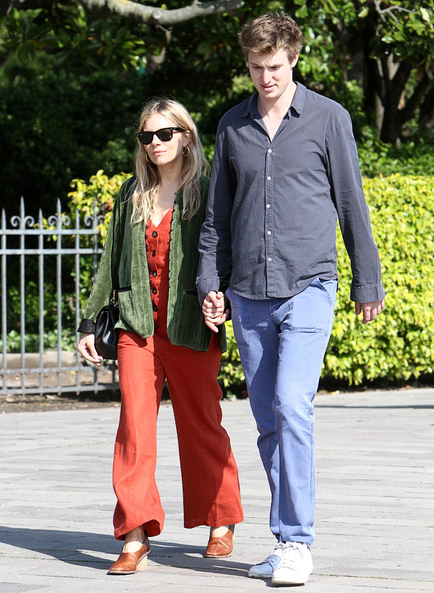 Sienna Miller Can T Wait To Make Lucas Zwirner Her Husband