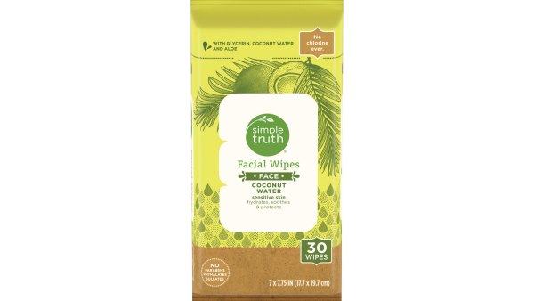 Simple Truth Facial Wipes