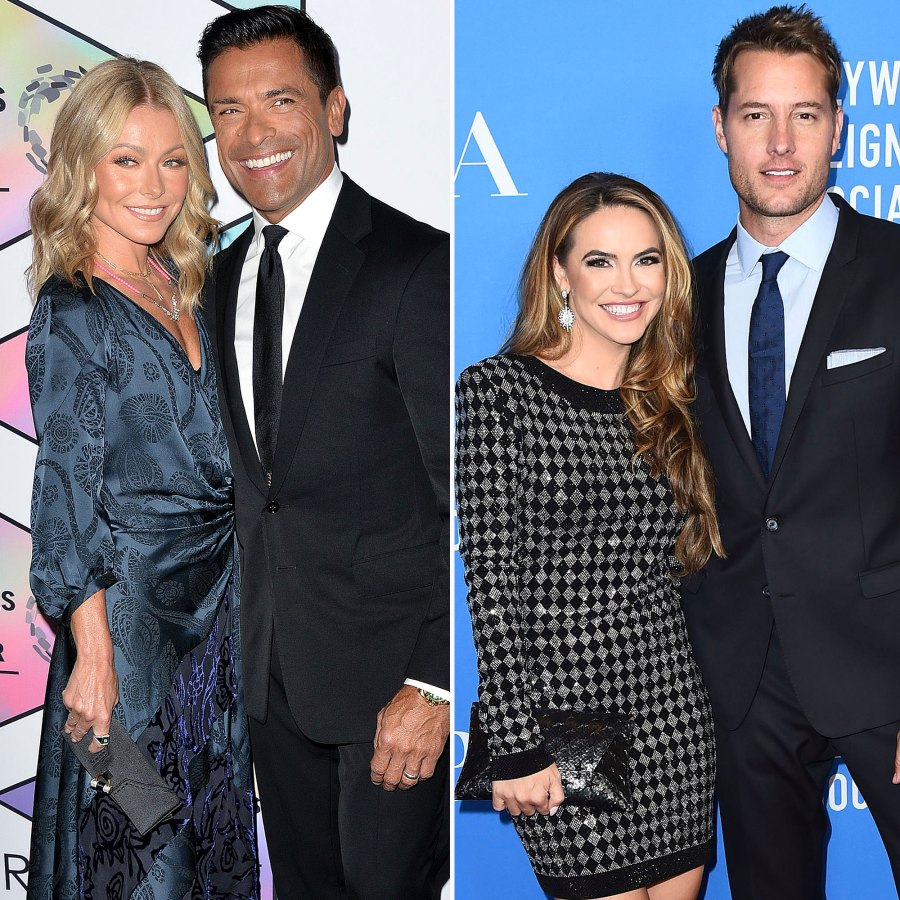 Soap Stars Who Dated Offscreen Kelly Ripa Mark Consuelos Justin Hartley Chrishell Stause