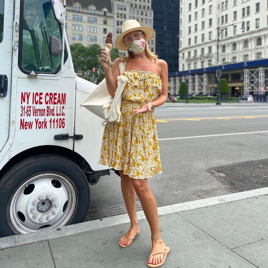 Sonja Morgan ice cream