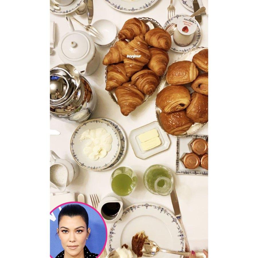 Kourtney Kardashian Stars Ordering Room Service
