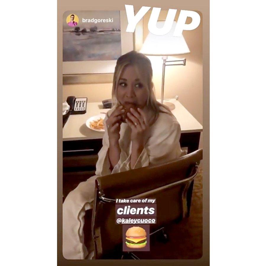 Kaley Cuoco Stars Ordering Room Service