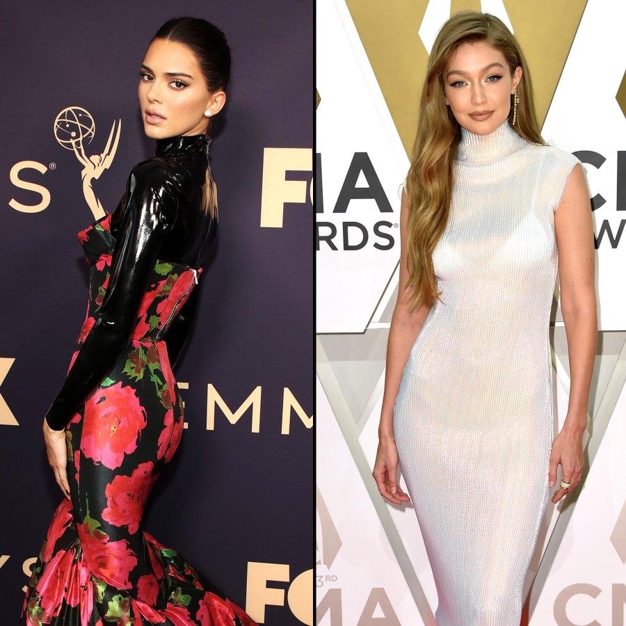 Kendall Jenner Gigi Hadid Stars Ordering Room Service