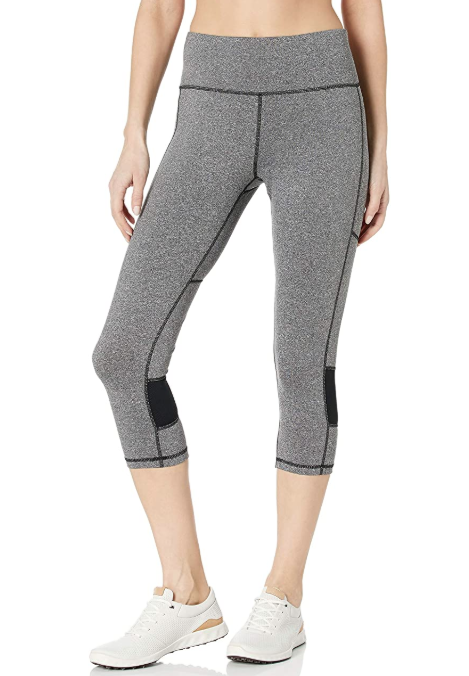 Starter Women's 20 Capri Workout Legging with Mesh