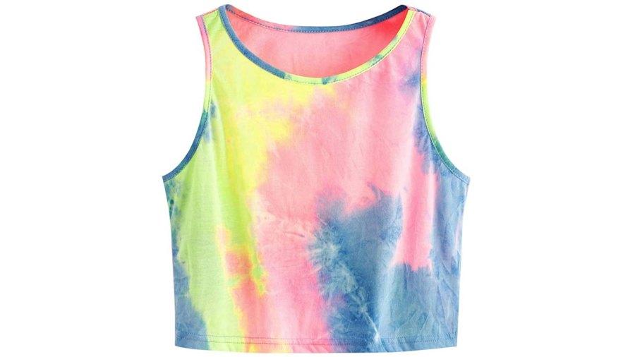 SweatyRocks Women's Summer Sleeveless Crop Tank Top