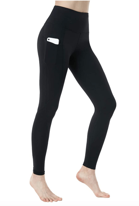 TSLA High Waist Yoga Pants with Pockets