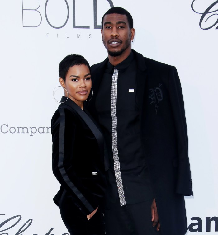 Teyana Taylor Iman Shumpert gives birth