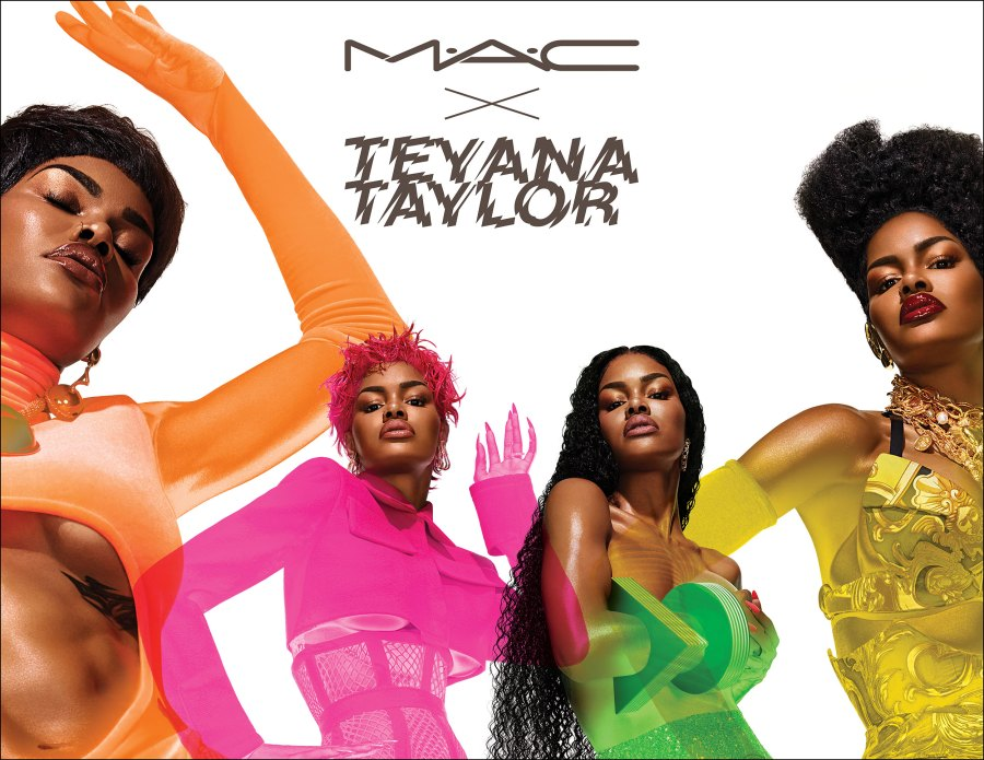 Teyana Taylor's MAC Cosmetics Collection Is a '90s-Lover's Dream Come True