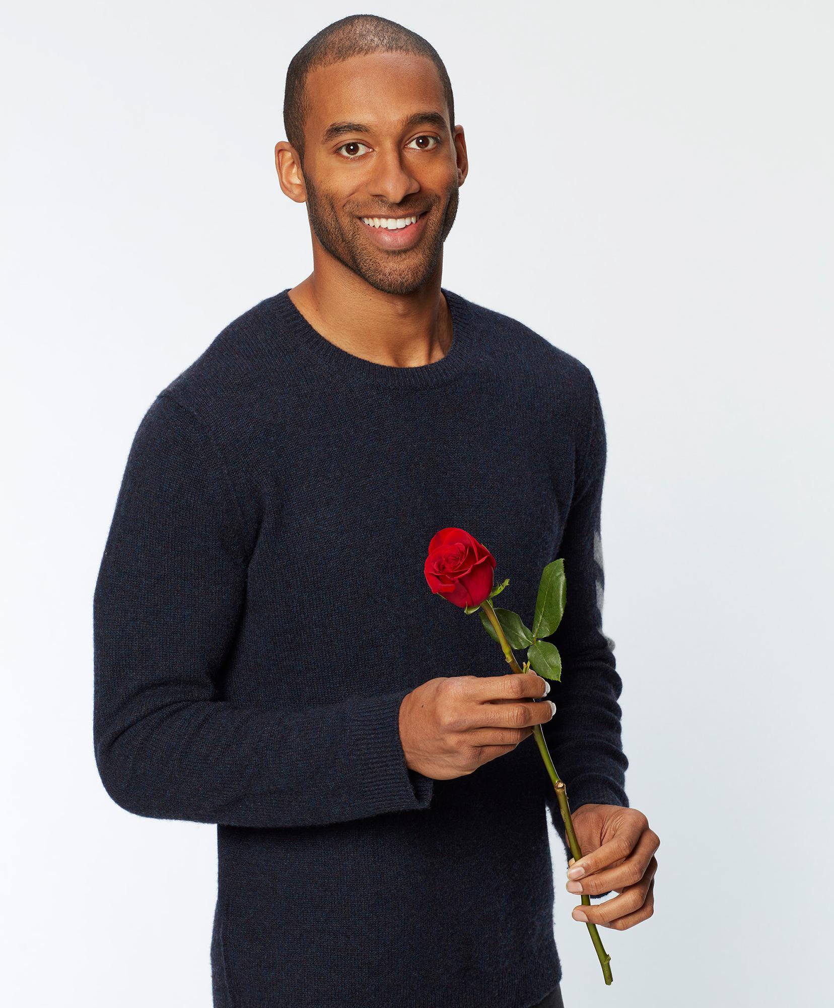 The Bachelor Matt James as franchise 1st black bachelor