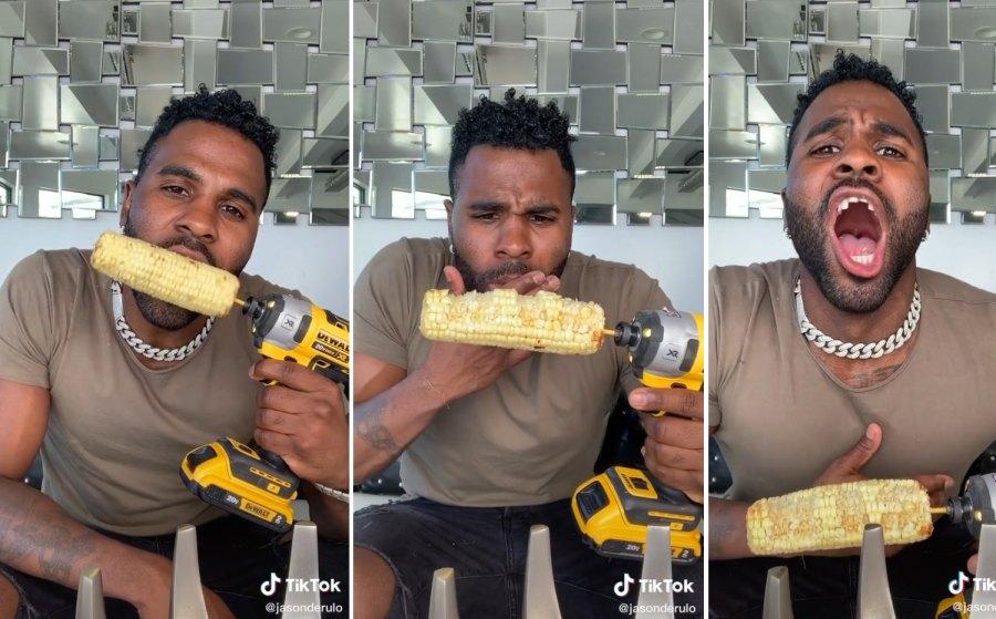 The Corn Cob Drill Challenge Jason Derulo