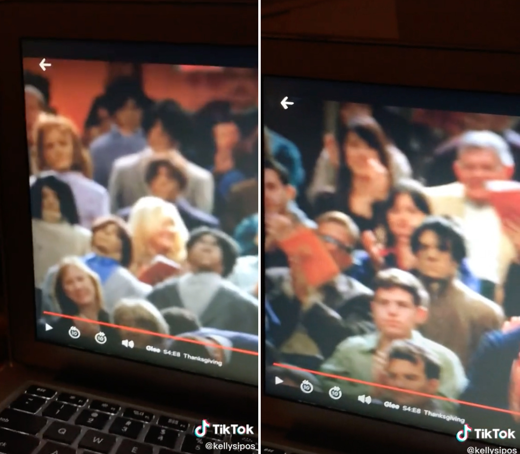 TikTok User Points Out That Glee Filled Auditorium With Creepy Dummies