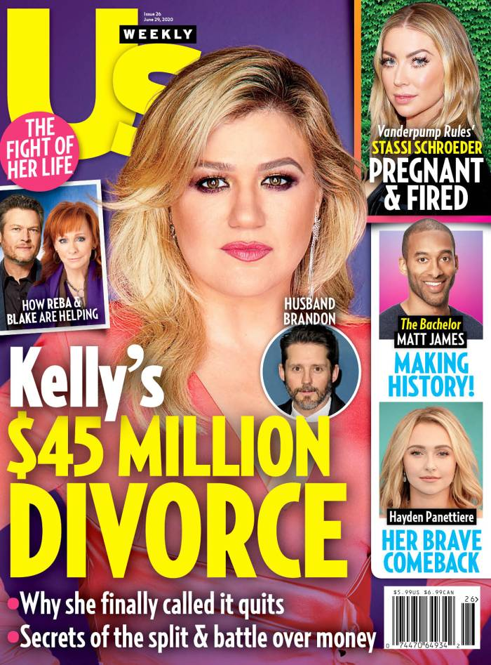 Us Weekly Cover Issue 2220 Kelly Clarkson Divorce