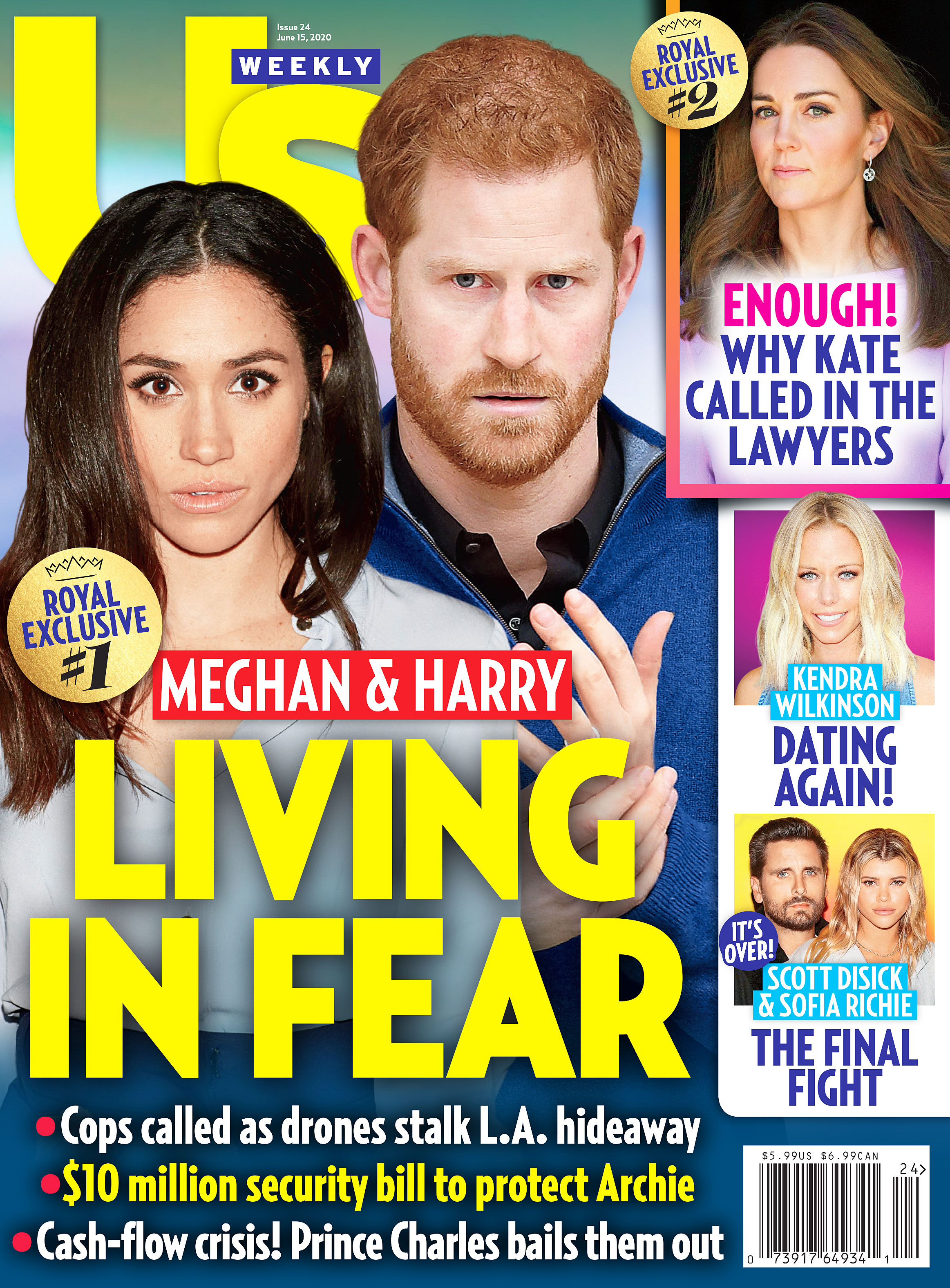 Us Weekly Cover Issue 2420 Prince Harry and Meghan Markle