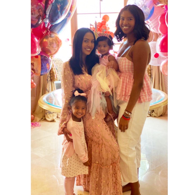 Vanessa Bryant Celebrates Her Daughter Capri S 1st Birthday