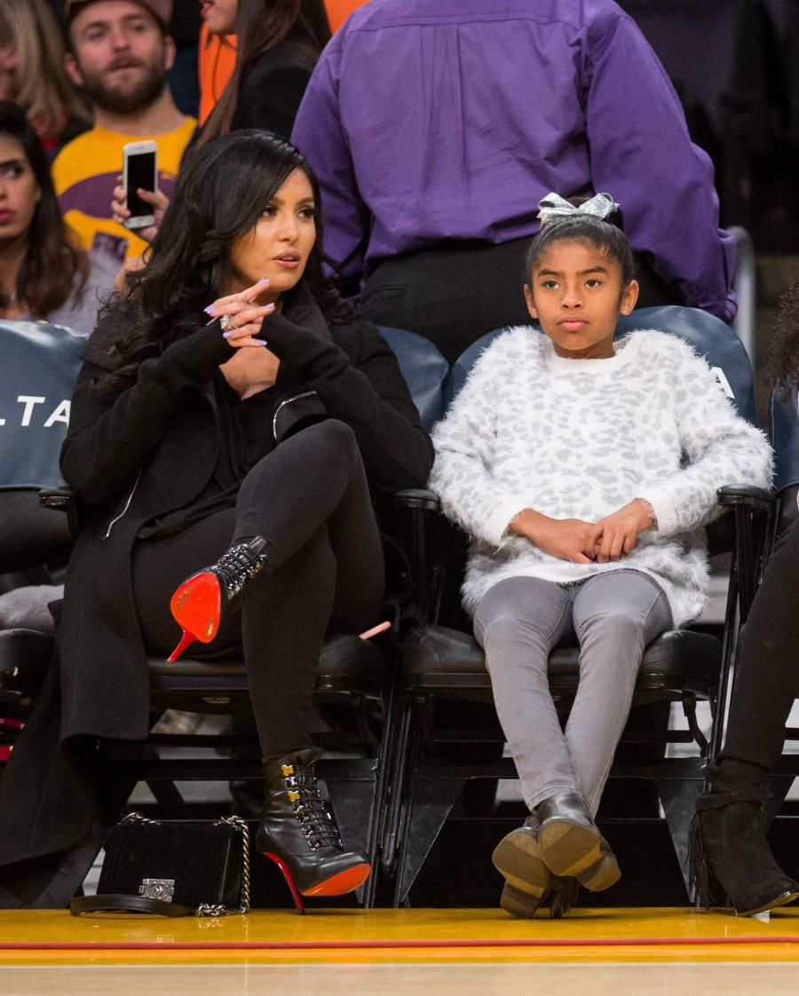 Vanessa Bryants Sweetest Motherhood Moments Following Kobe Bryants Death