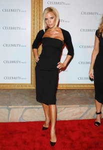 Victoria Beckham I Wore Tight Clothes as a Sign of Insecurity