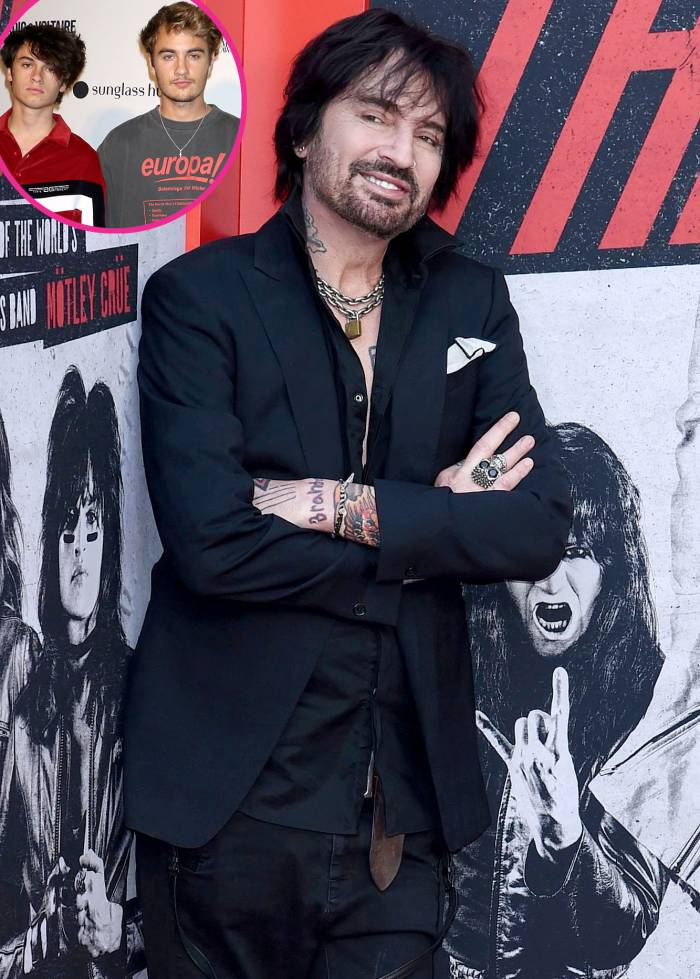 Why Tommy Lee Doesnt Give His Sons Dylan Brandon Relationship Advice