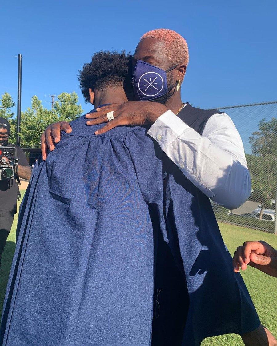 Zaire Dwayne Wade son graduation
