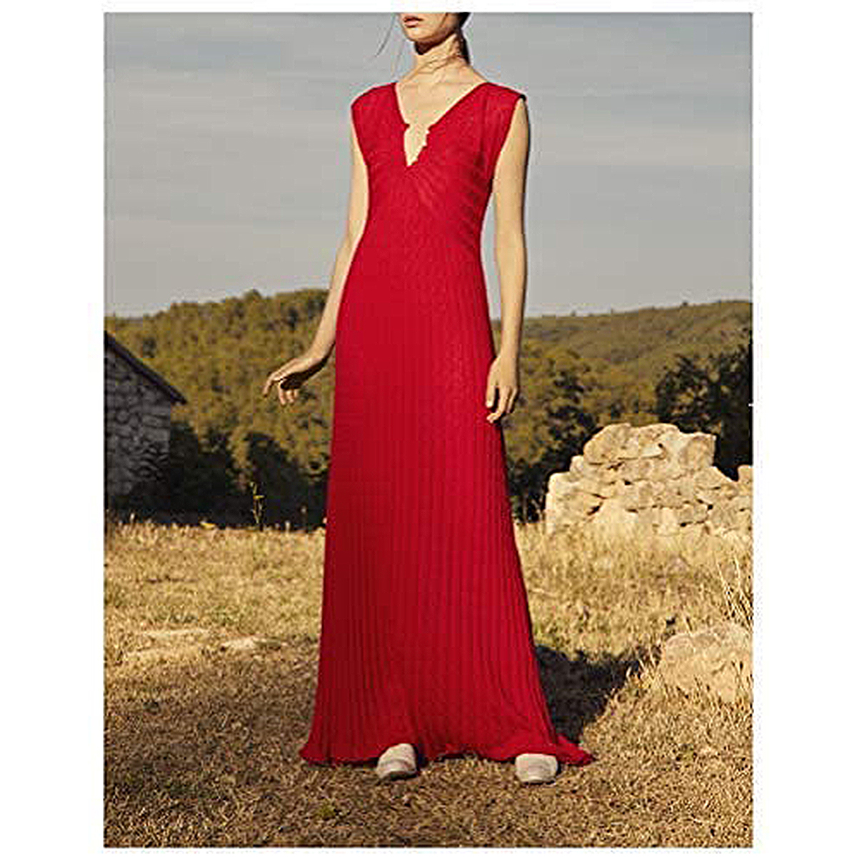Alejandra Alonso Rojas Rosa Midi Dress
