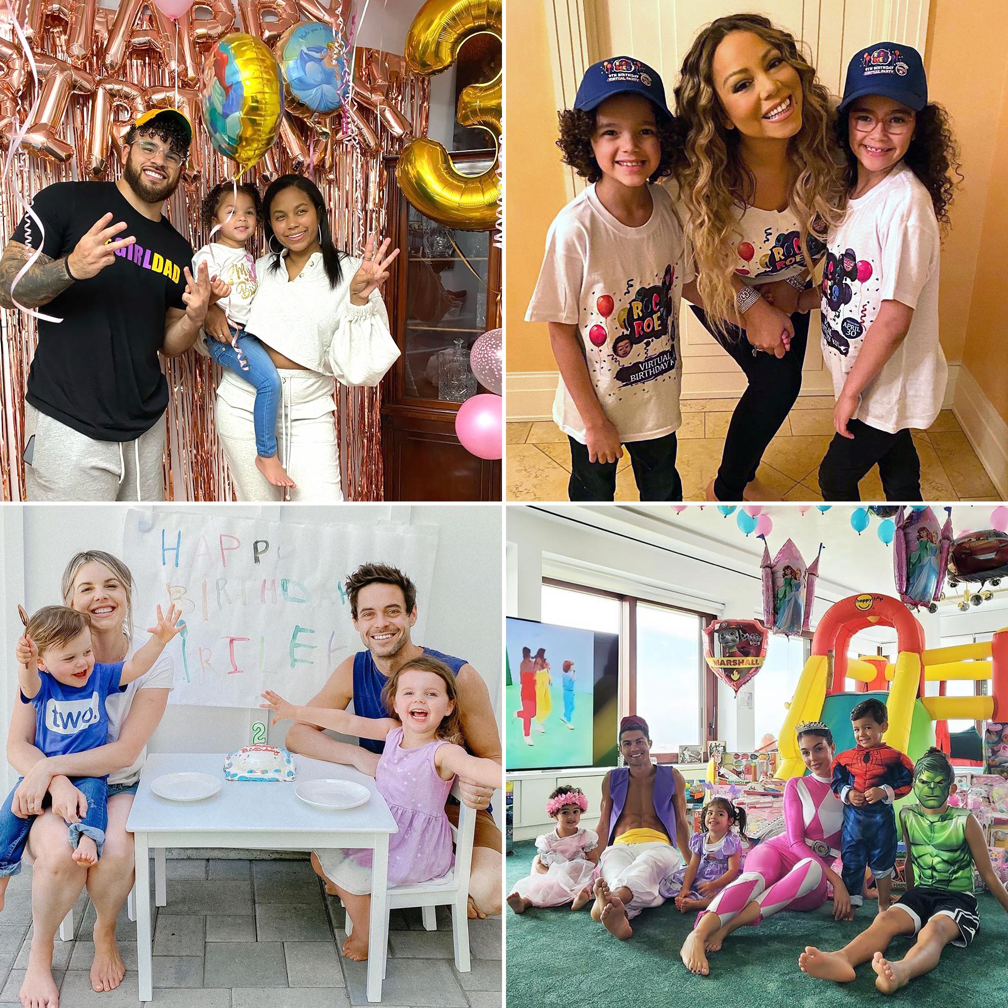 Celeb Parents Celebrate Kids Birthdays While Quarantined Pics