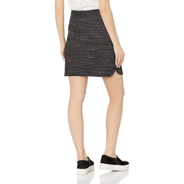 Daily Ritual Terry Cotton and Modal Sweatshirt Skirt